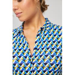 Camisa dibujo geométrico...