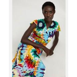 Vestido Midi Multicolor...