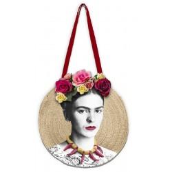 Bolso redondo Frida Kahlo...