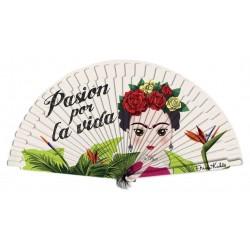 Abanicos Frida Kahlo