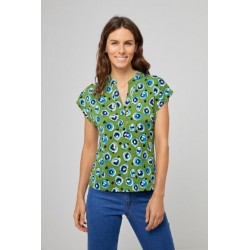 Blusa camiseta corto verde...