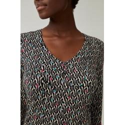 Camiseta de mujer elástica...