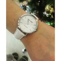 Reloj cuero piel acero...