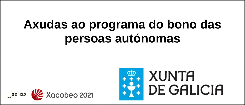 Axudas ao programa do bono das persoas autónomas
